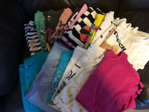 Girls tops and tanks size 10-12