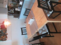 Brand new wooden dining table!!!