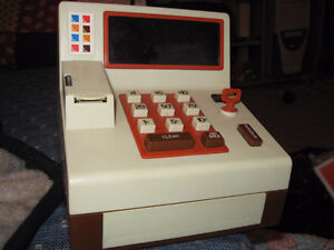 Works! Ideal Toy Company 1970s digital toy cash register vintage Cornwall Ontario image 1