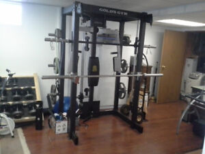"""""""Gold,s Gym Pro Series"""" Home Gym"""