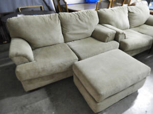 For Sale:  2 Love Seats and matching Ottoman
