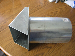 Fresh Air Intake Galv with Screen (BRAND NEW)
