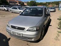 Vauxhall Astra 1.8i 16v SRi 5 DOOR - 2003 03-REG - 9 MONTHS MOT