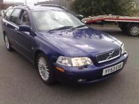 2003 VOLVO V40 1.9 D SE 5DR ESTATE 115BHP