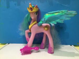 Figurine My little Poney licorne princesse Célestia