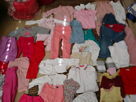 Beautiful collection of girls clothes in excellent condition. 6mts-3ys
