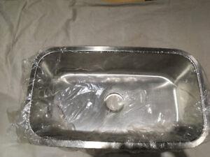 Luxart Single Bowl Undermount Kitchen Sink