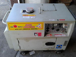 Red Maple LDG5000S Diesel generator 5KW silent $500 OFF!