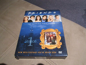 dvd Friends seasons 1 and 7
