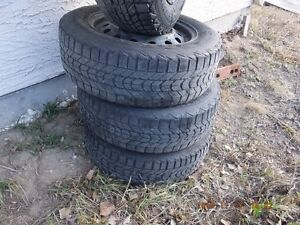 Winter Tires195/65R15 and Rims