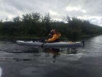 Winner Dave kayak