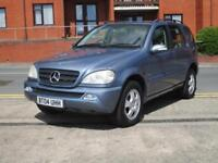 Mercedes-Benz ML270 2.7TD CDI AUTO + DIESEL + LEATHER