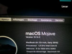 macbook air 8gb 2015