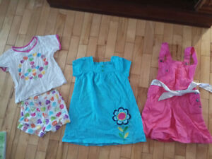 10 pieces of girl clothing - size 4 & 5
