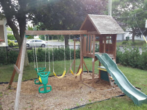 Module de jeux - portique - Swing set