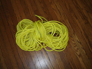 "Poly twisted rope - 150 ft - 1/4""and 3/8"" - sep.prices London Ontario image 3"