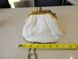 Women's Dress Purse/ handbag - Satin pleated with metal chain Kitchener / Waterloo Kitchener Area image 4