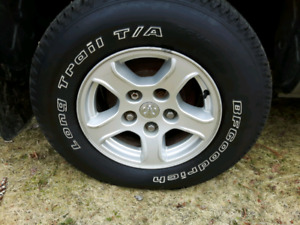 16 in. TIRES