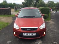 2008 57 plate Ford C-Max 1.8 facelift just 62k