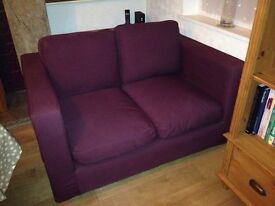 Two seater sofa/snuggle chair