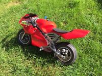 Very fast 24v ride on motorbike with new batteries