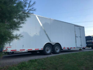 2019 Cargo Mate 8 X 26 CARGO W/6000 lb AXLES 7 ft HEIGHT NEW