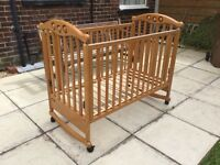 Cosatto cot with extras