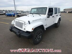 2015 JEEP WRANGLER UNLIMITED RUBICON 4D UTILITY 4WD 3.6L UNLIMIT