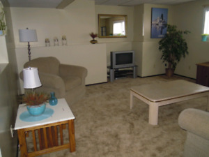 Spacious, warm and cozy basement suite available now!