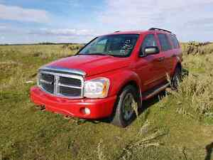 PARTING OUT: 2004 DODGE DURANGO  SLT WITH LEATHER / DVD  - PARTS