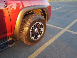 Hot Set of Wheels and Tires