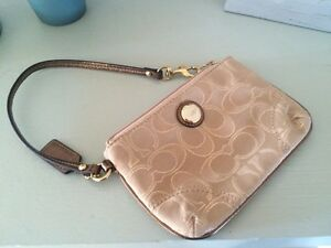 Coach wristlet - purchased at Coach in Halifax