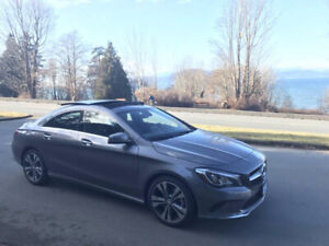 Lease Takeover - Mercedes-Benz CLA 250 4MATIC (Mnt. Grey, 2017)