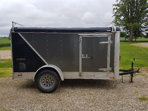 2013 Tailwind 5x10 Cargo trailer w/ side door and ramp