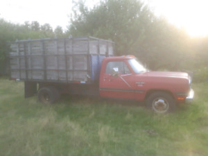 Ram 350 dually with dump box