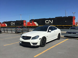 2012 Mercedes-Benz C63 AMG Coupe | Diamond White | 48,228 KM!