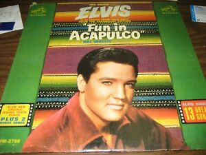Rediced price ELVIS LP FUN IN ACAPULCO