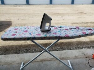 Clothes Iron and Ironing Board