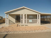BANK OWNED - 2006 Manufactured Home in Coyote Ranch a 55+ Yuma