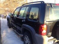 MECHANIC SPECIAL 2003 jeep liberty