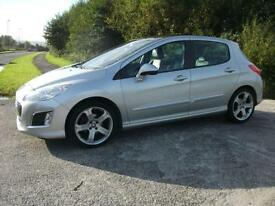 2012 62 PEUGEOT 308 1.6 E-HDI ALLURE 5D 112 BHP ** ONLY £30 YEAR ROAD TAX