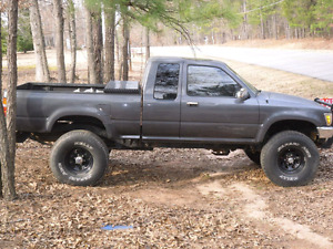 Toyota Pickup 1990's 5spd 4x4! WANTED!$$3500$