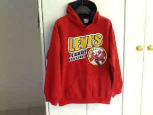 Hoodies LEVI'S, ANDI (youth size large,xl (new)