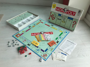 Monopoly Game - Traditional Version - Excellent Condition