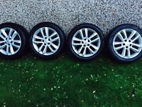 2008 vectra Sri alloy wheels with tyres