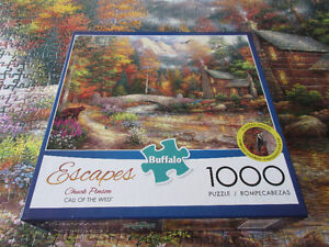 1000 Piece Puzzle - Call of the wild - find the animals  FUN!