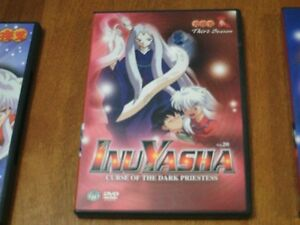 Inuyasha Curse of the Dark Priestess DVD