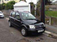 Fiat Panda Automatic 1.2 lit black £30 for a year road tax, Mot till Feb, service history, V good