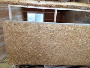 Sheets of partical board