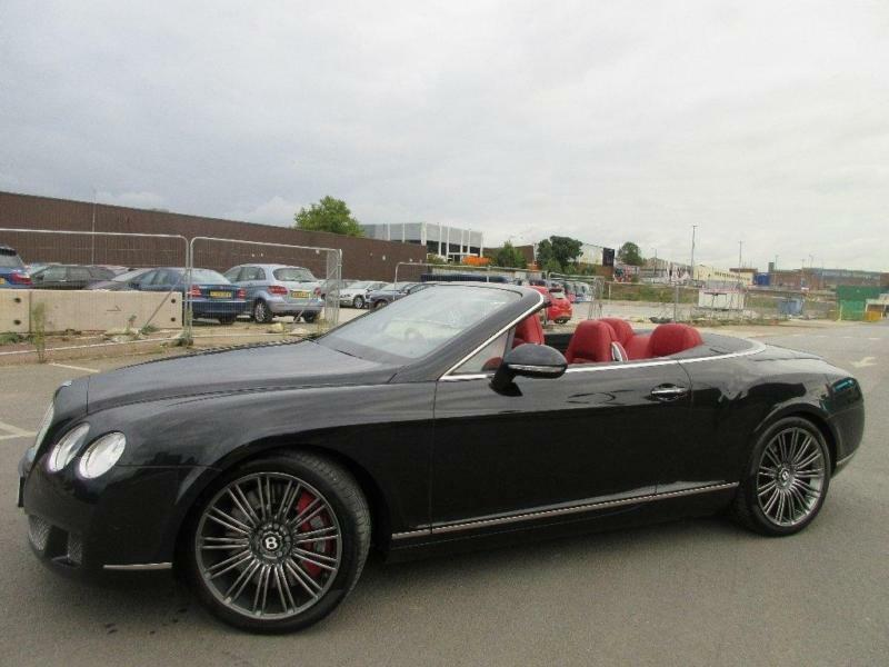 2011 Bentley Continental 6.0 Speed W12 GTC 2dr